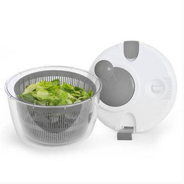 Wholesales Salad Spinner Easy Lettuce Herb Rinsing Drying and Prep Salad Tools Kitchen Tools on Sale