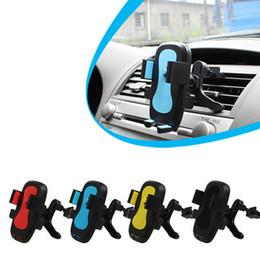 Автомобильный воздухоотводчик держатель мобильного телефона 360 градусов Rotable стабильный кронштейн руки вождения вертикальный параллельный мобильный телефон стенд