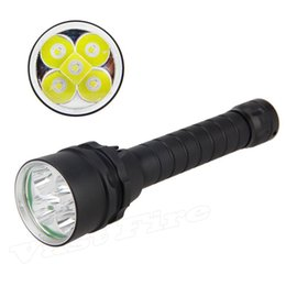 dive flashlight magnetic NZ - 5L2 dive flashlight magnetic control push, pull, dive, L2 T6 white light 2 section 18650 anti flashlight 5 lamp L2 torch