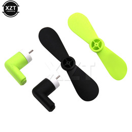 Travel Fan NZ - AT 1PCS USB fan Portable Travel Mini USB Fan For iPhone 5 5s 5c 6 6 plus 6+ 6s 6s plus 6s+ Smart Phone Laptop Dadgets