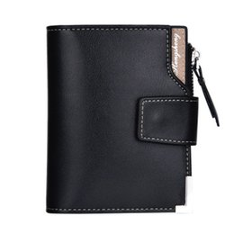 7059ea02f16b7 Young Man Wallet Australia - Buckle Slim Wallet Business Short Paragraph  Forever Young Money Bag Thin