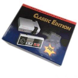 TV Video El Konsolu Için Yeni Eğlence Sistemi Klasik Oyunlar 500 New Edition Modeli NES Mini Oyun Konsolları