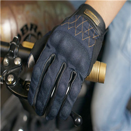 $enCountryForm.capitalKeyWord Canada - Fashion jeans leather motorcycle gloves Unisex outdoor riding gloves moto motocross Motorcycle protection SIZE:S-2XL
