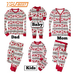 Father Daughter Matching Clothes Australia - New Family Christmas Pajama Family Matching Clothes Matching Mother Daughter Clothes Fashion Father Son Mon New Year Look