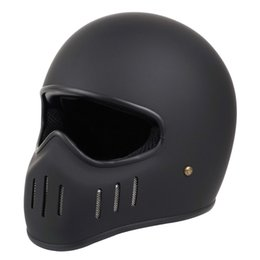CO Fiberglas Full Face Motorradhelm Forco Vintage Retro Lokomotive Moto Helme für Harley Crusie Japan Helm im Angebot