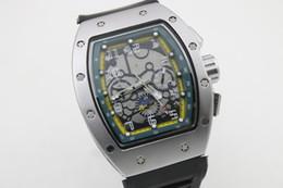 Горячее надувательство Man 011 часы резиновый серебристый корпус зеленая тень Автоматы часы