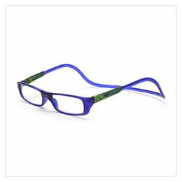 abedab1d7b Unisex Imán Gafas de Lectura Hombres Mujeres Gafas Coloridas Unisex  Ajustable Cuello Colgante Frente Magnético Gafas de Presbicia Cuidado de la  Visión