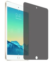 12.2 tablet 2018 - For Apple ipad mini 2 3 4 Premium Real Tempered Glass Privacy Anti Screen Protector Cover Anti Spy film for iPad Air 9.7