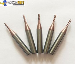 Cutter Carbide NZ - Best Quality 5pcs lot 2.0mm carbide end milling cutter for MIRACLE A5 A7 A9  SEC-E9 key cutting duplicated machines