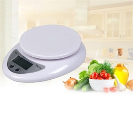 ElEctronic housEhold kitchEn scalE online shopping - 5kg Home Household Portable LCD Screen Electronic Digital Kitchen Food Diet Postal Weight Scale Balance g x g B05 Free DHL FEDEX