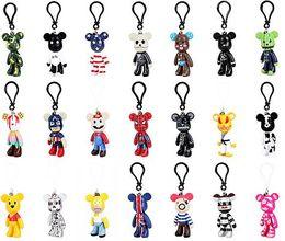 $enCountryForm.capitalKeyWord UK - Bear Cartoon Gloomy Bear Keychain Cute Bag Charm Holder Cartoon Key Chain Key Ring Pendant Kids Toys