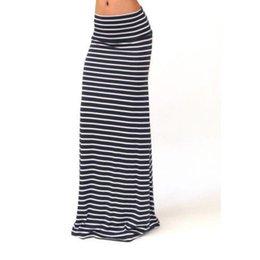 $enCountryForm.capitalKeyWord UK - Women Skirts Cotton Striped Skirt Floor Long Skirt Elegant Girls Clothing Summer Formal black and white 18Mar23 S916
