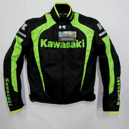 $enCountryForm.capitalKeyWord Canada - Men jacket KAWASAKI winter automobile race clothing motorcycle clothing thermal removable liner flanchard