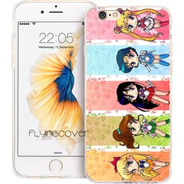 Iphone 5c Crystal Cases Australia - Sailor Moon Crystal Clear Soft TPU Silicone Phone Cover for iPhone X 7 8 Plus 5S 5 SE 6 6S Plus 5C 4S 4 iPod Touch 6 5 Cases.