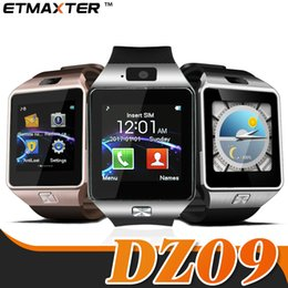german used 2019 - DZ09 Smart Watch Bluetooth Iphone Smartwatch Sleep State SIM Card Android Watch Two-way Anti-throwing with Package for i