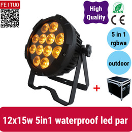 $enCountryForm.capitalKeyWord Australia - 4light with road case Ip65 Small led stage disco mini par 12*15W RGBWA 5 in1 led par light dj light