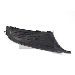 TOYOTA YARIS 2011-2014 FRONT BUMPER FOG GRILLE WITH FOG HOLE MAT BLACK LEFT SIDE