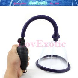 breast suction toys for women NZ - Breast Enlargement Pump, Breast Massage Suction Cup, Vaccum Pump Breast Enhancer Sex Toy For Women, Adult Product Y18110305