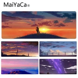 Discount game saw - MaiYaCa Your Own Mats Climbing Top To See The Setting Sun Game Lockedge mousepad Computer Mousepad Best Mats for Gamer G