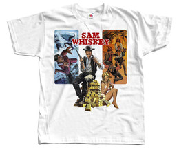 $enCountryForm.capitalKeyWord Canada - Sam Whiskey, movie poster, 1969 T SHIRT all sizes S to 5XL Tee Shirt Hipster Harajuku Brand Clothing T-Shirt