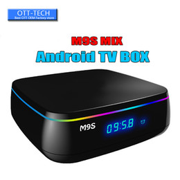 $enCountryForm.capitalKeyWord Canada - M9S Series M9S MIX TV Box Android 6.0 Amlogic S912 Octa core 2G 16G Android 6.0 TV Box WiFi 2.4G BT4.0 H.265 4K Internet Box