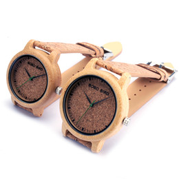 China bird brand BOBO BIRD M12 Bamboo Wood Quartz Watch For Men And Women Wristwatches Top Brand Luxury With Japan Movement As Gift cheap ceramic brand watches for women suppliers