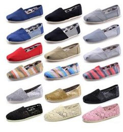 $enCountryForm.capitalKeyWord NZ - FREE shipping HOT Wholesale New Brand Women and Men Fashion Sneakers Canvas Shoes tom shoes loafers Flats Espadrilles shoes Size 35-45