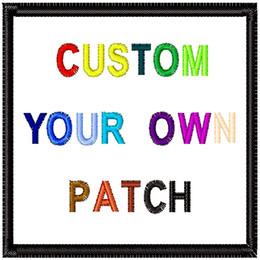 Toppa personalizzata di alta qualità FAI DA TE Tutti i tipi di ferro sulle toppe per vestiti Adesivi personalizzati ricamati patch applique carino in Offerta