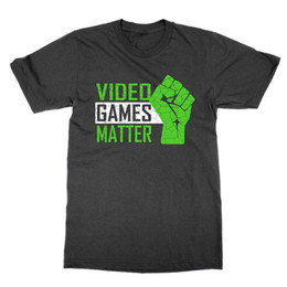 China Video Games Matter t-shirt funny present gamer tee protest parody present gift supplier funny videos suppliers