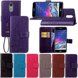 Lg Tribute Hd Cases NZ - Premium PU Leather Flip Fold Wallet Case with [ID&Credit Card Slot] for LG Stylus Stylo 2 Spirit Tribute HD X Style Cam Skin C70
