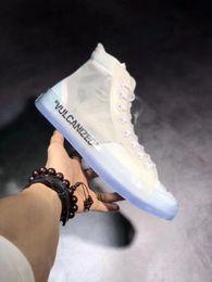 Male unisex designer all shoe off transparent sport sneakers star chuck  shoes high-top taylor white men vulcanize shoes 7479559c5ed0