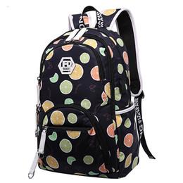 Cute Backpacks For Teenage Girls Australia - cute kids backpack child bag waterproof fruit printing backpack for children school bags for teenage girls schoolba