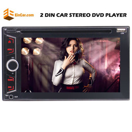 stereo dvd player Canada - Eincar Double Din 6.2'' Stereo Bluetooth car DVD CD Player Auto Radio FM AM USB AUX RDS Subwoofer&Steering Wheel Control Remote Control