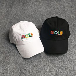 5962f13012e Discount snapback streetwear - 2018 GOLF Summer Embroidery Letters Hip Hop  Baseball Cap Kanye West Men