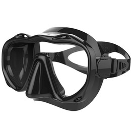 $enCountryForm.capitalKeyWord NZ - Swimming Diving Snorkeling Goggles Diving Mask Goggles Glass Professional Underwater Glasses Equipment Toughened Tempered Glass