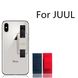 Quantity phones online shopping - 100 Original Jmate Silicone Cell Phone Holder Sticker Cover for JUUL Vape Pen JUUL Holder Large Quantity IN STOCK Hot
