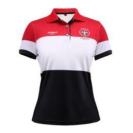 Sport apparel women online shopping - Women s T shirt Golf Apparel Girl Summer Short Sleeve Tees Shirts Quick Dry T Shirt for Women Sport Clothing Brand Polo Shirt