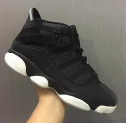 72b2307c898 Black lace ring online shopping - 6 Rings Basketball Shoes Trainer Training  basketball Shoe Men s