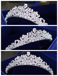$enCountryForm.capitalKeyWord NZ - New simple full zircon silver bride crown headdress   award crown   wedding dress with accessories   into the store to choose more styles