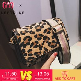 sexy ladies handbags NZ - Leopard Print Small Flap Bags for Women 2018 Winter Crossbody Bags Lady Shoulder Hand Bag Handbags Fashion Retro Sexy High Quality