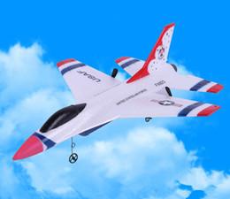 Luchador de juguete Su35 / F16, planeador remoto, carga USB, modelo de espuma EPP resistente a caídas, avión de combate de juguete de ala fija para niños