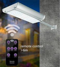 GaraGe controls online shopping - 5 Mode Solar Lights Outdoor Radar Motion Sensor and Remote Control led lm Aluminum Shell Security Lighting for Porch Garage