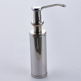 Lovely Tall Soap Dispenser For Vessel Sink Decor
