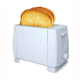 Discount bread machines - Button type Toaster Home Automatic bread Maker Multi-function Breakfast Sandwich Machine Toast Machine Thaw heat toast