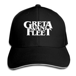 Van Hats UK - Couple Baseball Cap Greta Van Fleet Print Mens Womens  Baseball Caps Adjustable a898d74115