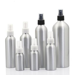 Großhandel Tragbare Spray-Zerstäuber-Flasche verdicken unteres Design-Aluminiumfeinnebel-leere Flaschen mit Plastikdeckel-Kosmetik-Behälter 2 8ym6 BB