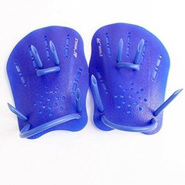 $enCountryForm.capitalKeyWord UK - Professional Swim Paddles Training Adjustable Silicone Hand Webbed Gloves Beginner Fins Flippers For Men Women Kids Learn Gear