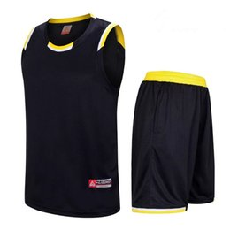 2353ecff0cc 2018 Men Basketball Jersey Sets Uniforms kits Adult Sports shirts clothing Breathable  basketball jerseys shorts DIY Custom Tank Tops for Men