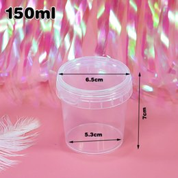 packing containers 2019 - Free Shipping150 ml Empty Transparent Plastic Packing Bottles Honey Dried Candy Sample Packaging Containers jc-193 cheap