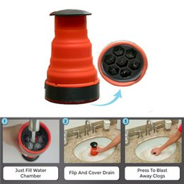 Wholesale Clog Cannon High Pressure Powerful Manual Air Power Drain Blaster Pump For Bathroom Kitchen Sink Plunger Pipe Clog Remover